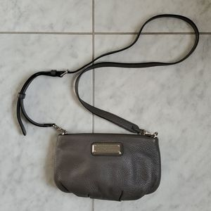 MARC by Marc Jacobs Grey Leather Cross Body